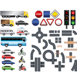 highway code template vector image