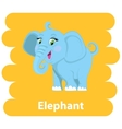 Cartoon cute Elephant vector image vector image