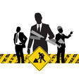 construction business vector image vector image
