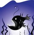 deepsea fish vector image vector image