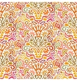 Funny Colorful Seamless Pattern with Abstract vector image