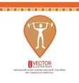 human activity design vector image vector image