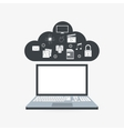 Icon of internet things design vector image