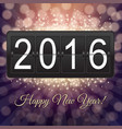 new years black counter vector image vector image