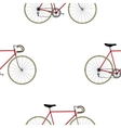 Vintage Bicycle Seamless Pattern vector image vector image