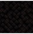 Dark brown weaved squares geometric seamless vector image