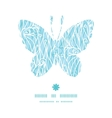 abstract frost swirls texture butterfly silhouette vector image vector image