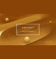 abstract gold brown background vector image