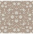 Beige seamless pattern vector image
