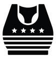 crop top united state independence day related vector image vector image