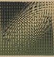 halftone camo background dots texture retro vector image