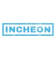 Incheon Rubber Stamp vector image vector image