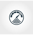 internet speed measurement icon from measurement vector image vector image