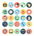 Medical and Health Icons 1 vector image vector image