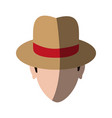 spy or investigator avatar icon image vector image