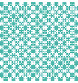 teal puzzle pieces jigsaw - - field chess vector image vector image