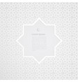 white label ramadan kareem greeting card vector image vector image
