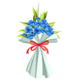 A boquet of flowers vector image vector image
