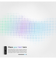Abstract technology background with square shapes vector image vector image