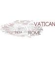 enclave word cloud concept vector image vector image