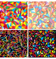 mosaic abstraction vector image vector image