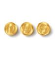 set golden web luxury award banners premium web vector image vector image