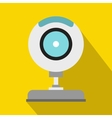 Webcam icon in flat style vector image
