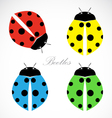 image of an beetles vector image