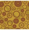 cogwheel pattern vector image vector image