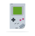 computer game pad tetris icon flat isolated vector image