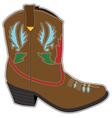 Cowboy Boots Short vector image