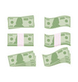 dollar sign money dollar icon dollar bill symbol vector image vector image