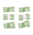 dollar sign money icon bill symbol vector image