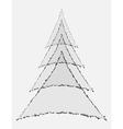 Geometric stylization vector image vector image