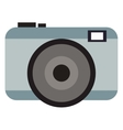 grey photographic camera vector image vector image