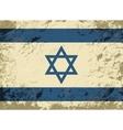 Israeli flag Grunge background