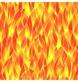 Seamless fiery pattern vector image