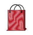 shopping bag symbol vector image vector image