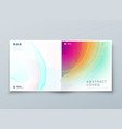 square liquid abstract cover background design vector image vector image
