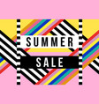 Summer season sale sign for business discount