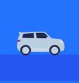 suv car icon flat vector image vector image