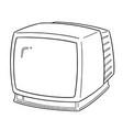 televison vector image