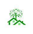 tree house logo vector image