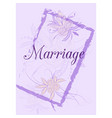 Wedding invitation card suite with flowers design