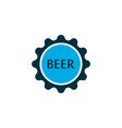 beer lid icon colored symbol premium quality vector image