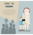 Childrens fears vector image
