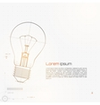 Of Lightbulb Isolated On Gray