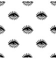 pattern with eyes vector image vector image