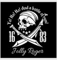 Pirates jolly roger symbol poster of skull