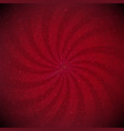 red sunburst black vignette border vector image